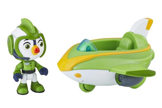Top Wings: Figure & Vehicle Set - Brody's Splash Wing