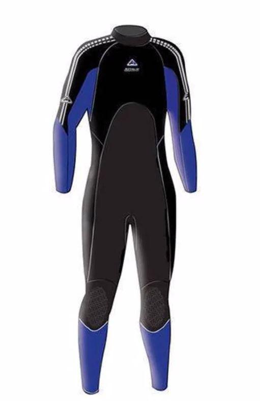 Enduro Ladies Steamer - Blue (Size 8)