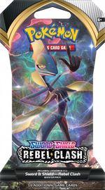 Pokemon TCG: Sword and Shield Rebel Clash Single Blister (10 Cards) image