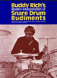 Buddy Rich's Interpretation of Snare Drum Rudiments image
