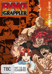 Baki The Grappler - Round 6: King Hanma on DVD
