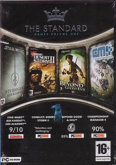 The Standard Game Pack Volume One for PC Games