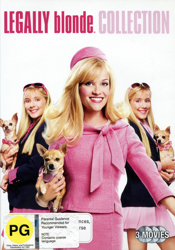 Legally Blonde Collection (3 Disc set) on DVD