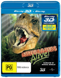 IMAX: Dinosaurs Alive! on Blu-ray, 3D Blu-ray