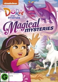 Dora And Friends - Magical Mysteries on DVD