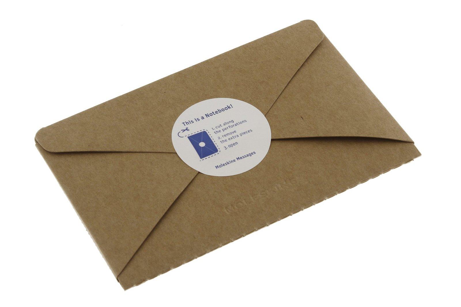 Moleskine Pocket Postal Notebook - Kraft Brown image