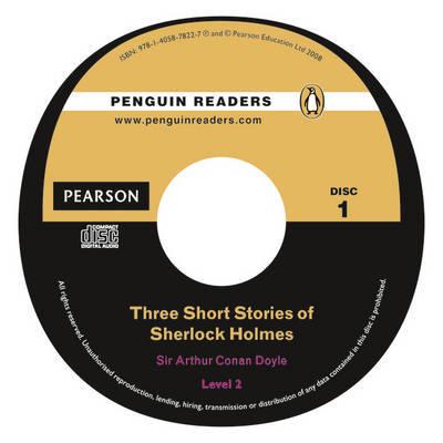 Three Short Stories of Sherlock Holmes: Level 2 by Sir Arthur Conan Doyle image