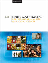Finite Mathematics for the Managerial, Life, and Social Sciences by Soo T Tan image