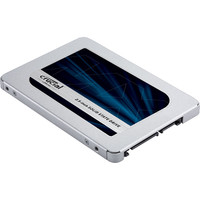 """Crucial MX500 250GB SATA 2.5"""" 7mm (with 9.5mm adapter) Internal SSD image"""