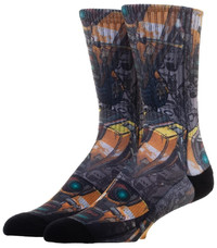 Borderlands Sublimated Crew Socks