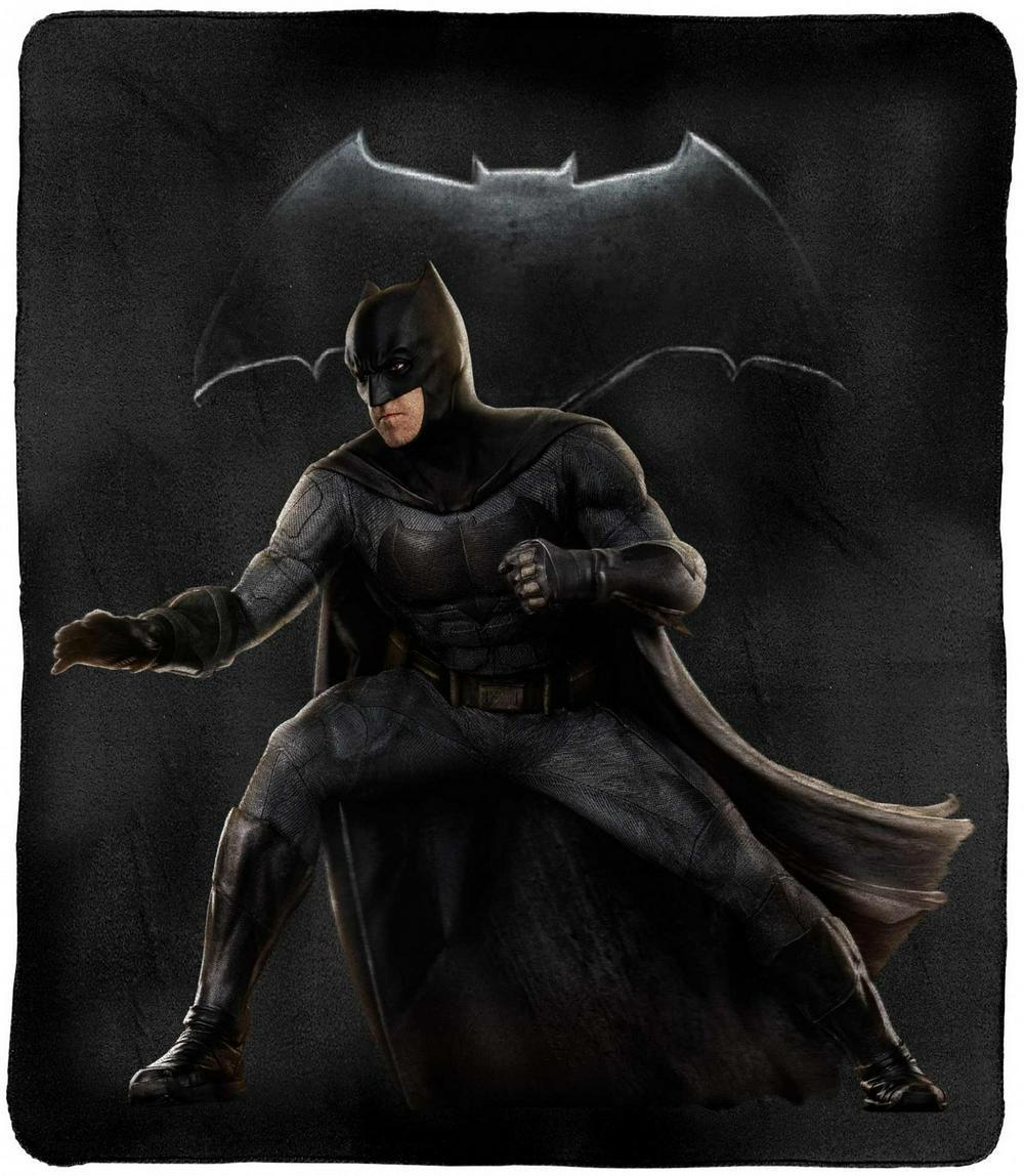 DC Justice League Batman Throw Rug image