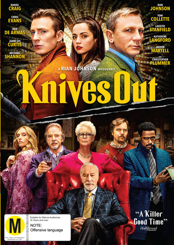 Knives Out on DVD
