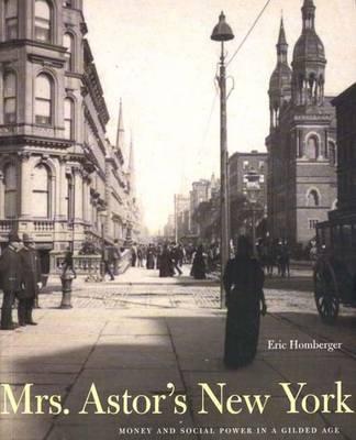 Mrs. Astor's New York by Eric Homberger image