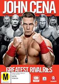 WWE John Cena: Greatest Rivalries on DVD