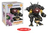 "Overwatch – D.VA & Meka (Carbon Fibre) 6"" Pop! Vinyl Figure"