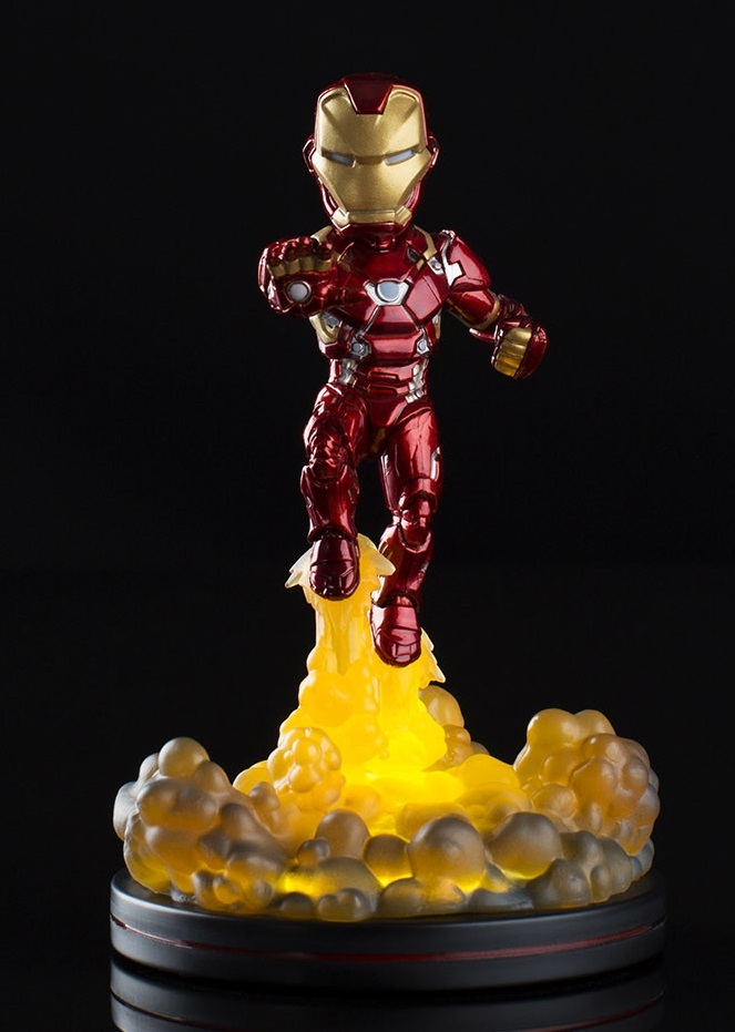 Marvel - Iron Man (Light-Up) - Q-Fig FX Diorama image