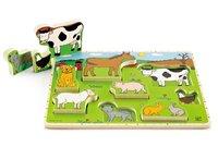 Hape: Farm Animals Stand Up Puzzle
