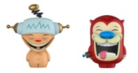 Ren & Stimpy - HappyHappy JoyJoy Dorbz Vinyl 2-Pack (LIMIT - ONE PER CUSTOMER)