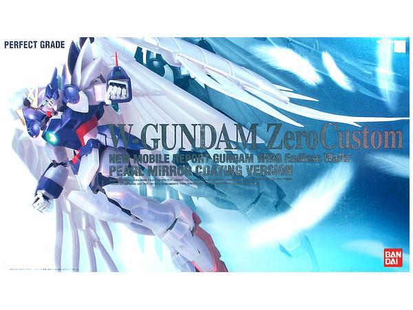 PG 1/60 Wing Gundam Zero Custom (Pearl Mirror Coat Ver.) - Model Kit