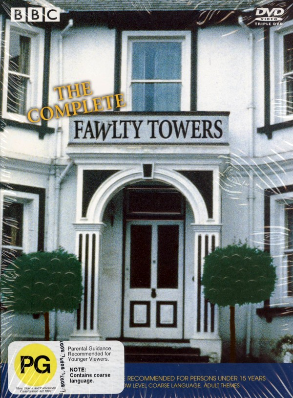 Fawlty Towers - The Complete Series (3 Disc Set) on DVD image