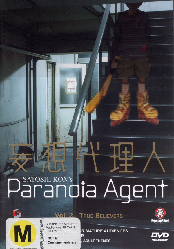 Paranoia Agent Vol 2 - True Believers on DVD image