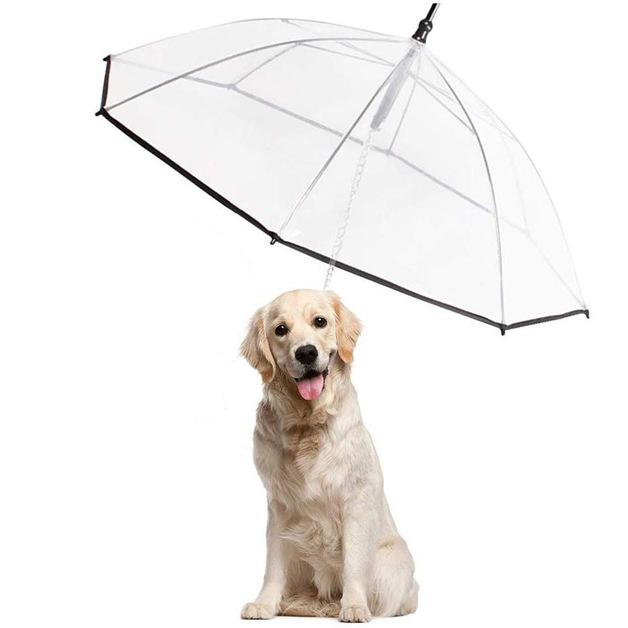 Ape Basics: Clear Pet Tow Rope Umbrella