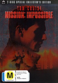 Mission Impossible: Special Collector's Edition (2 Disc) on DVD image