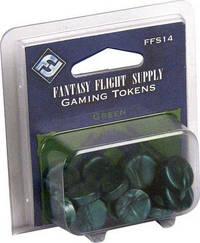 Fantasy Flight Supply: Green Gaming Tokens by Fantasy Flight Games