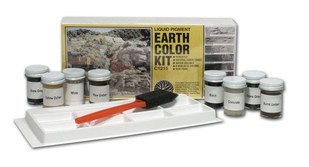 Woodland Scenics Earth Colour Assortment