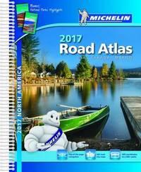 USA Canada Mexico Atlas 2017 by Michelin