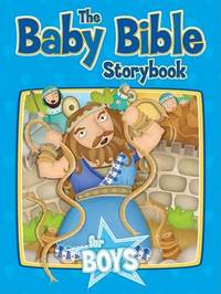 Baby Bible Storybook for Boys by Robin Currie image