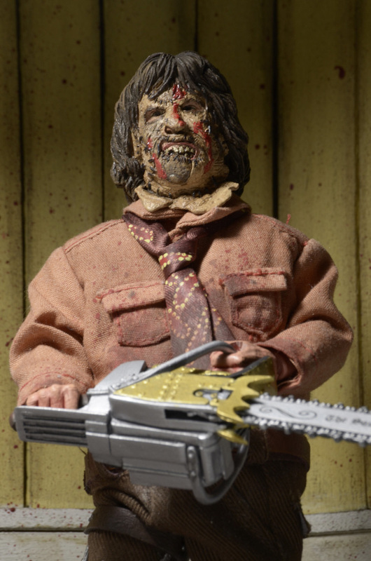 """The Texas Chainsaw Massacre 3: Leatherface - 8"""" Action Figure"""