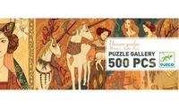 Djeco: 500pc Unicorn Garden Gallery Puzzle