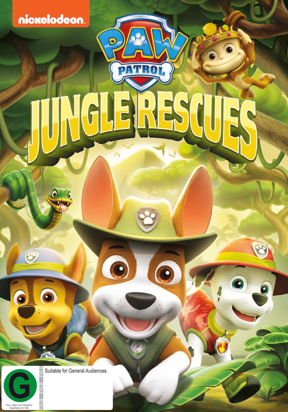 Paw Patrol: Jungle Rescues on DVD image