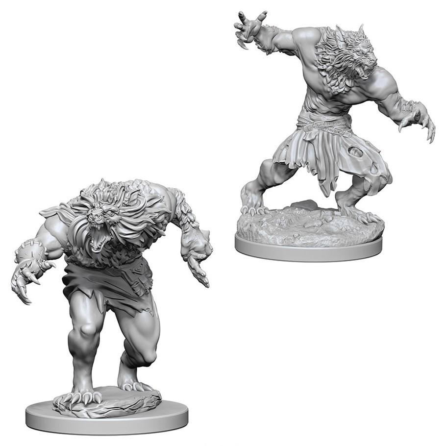 D&D Nolzur's Marvelous: Unpainted Miniatures - Werewolves image