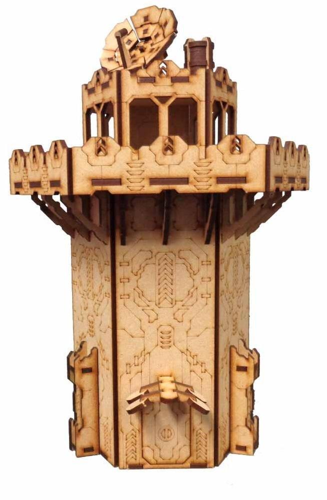 TTCombat: Tabletop Scenics - Guard Tower image