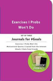 Whiskey River Co: 3 Piece Journal Set - #Goals