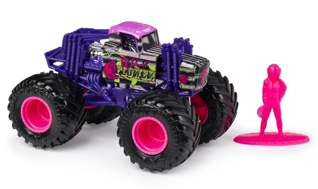 Monster Jam: 1:64 Scale Diecast Truck - Wild Flower