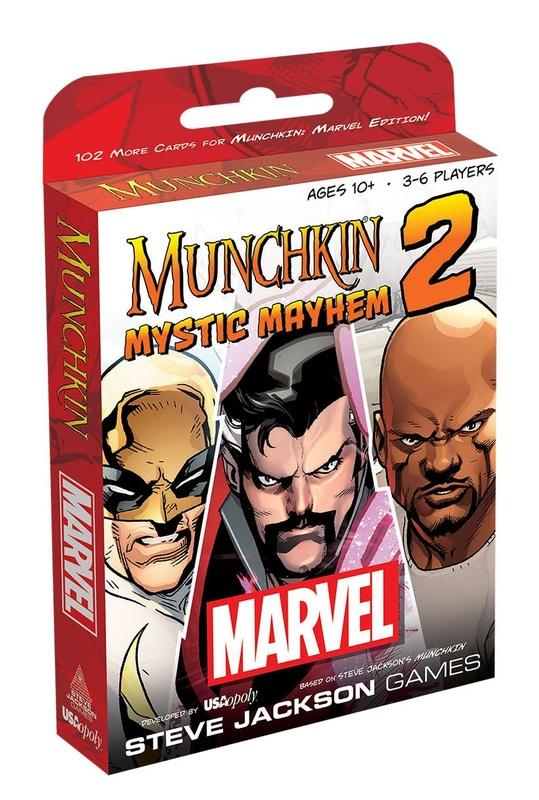 Munchkin: Marvel 2 - Mystic Mayhem Expansion