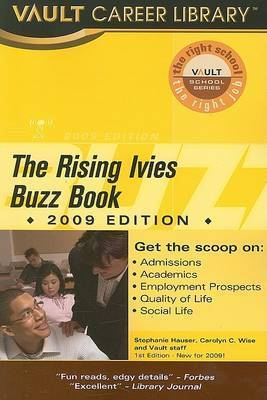 Vault Rising Ivies Buzz Book by Stephanie Hauser