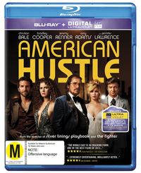 American Hustle on Blu-ray, UV