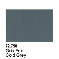 Vallejo Game Air Cold Grey Acrylic Paint (17ml)
