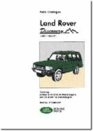 Land Rover Discovery Parts Catalogue 1989-1998 MY by Brooklands Books Ltd image