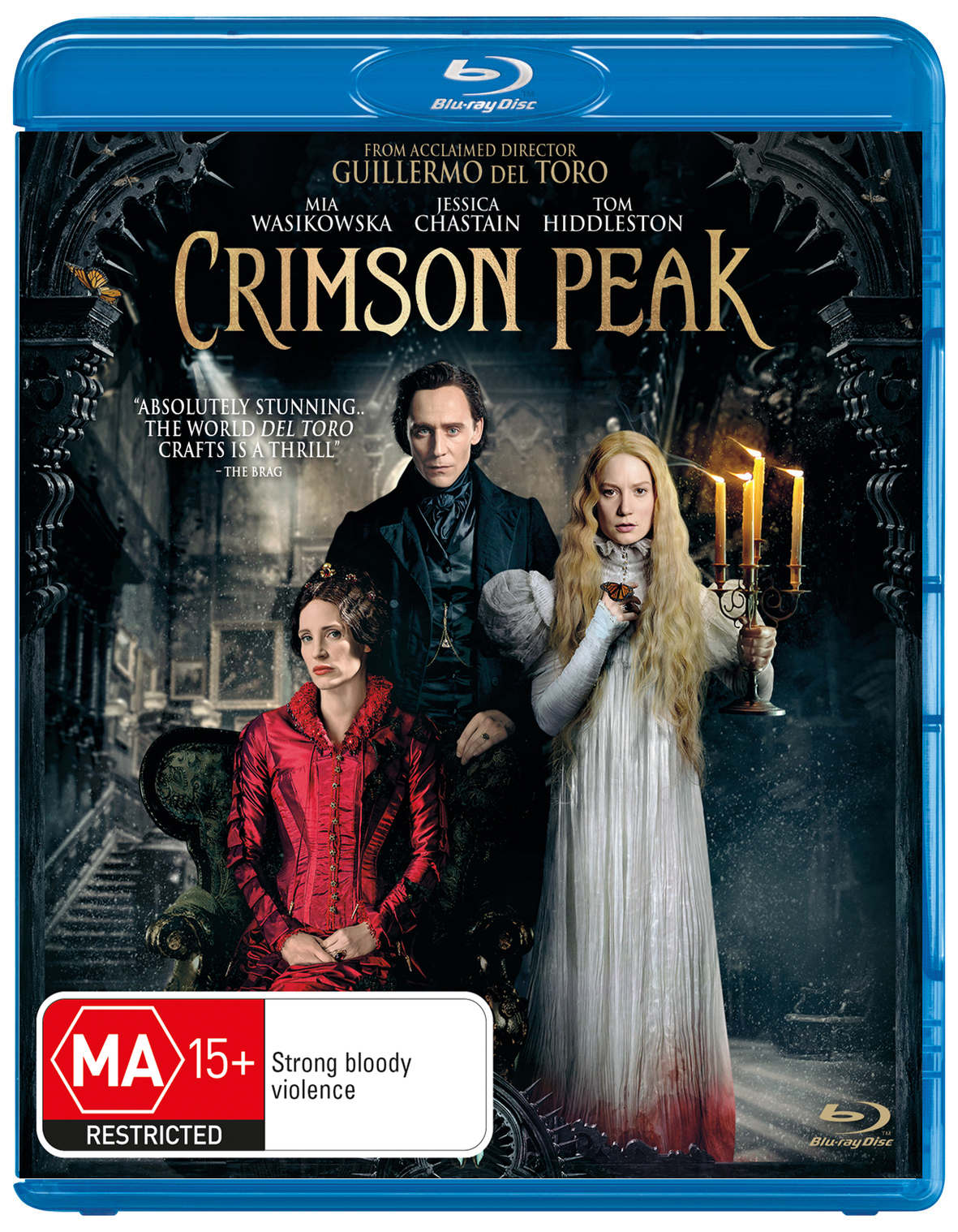 Crimson Peak on Blu-ray image