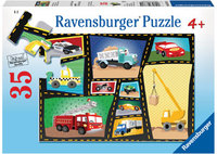 Ravensburger - Engines & Tires Puzzle (35pc)