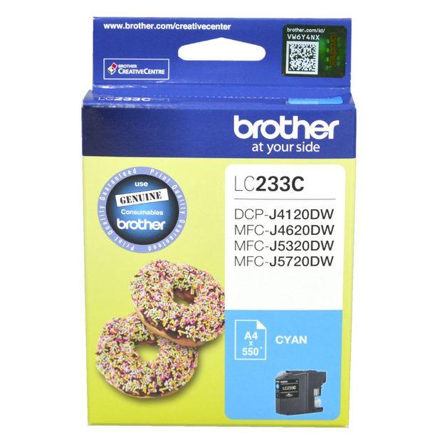 Brother LC-233C Ink Cartridge (Cyan)