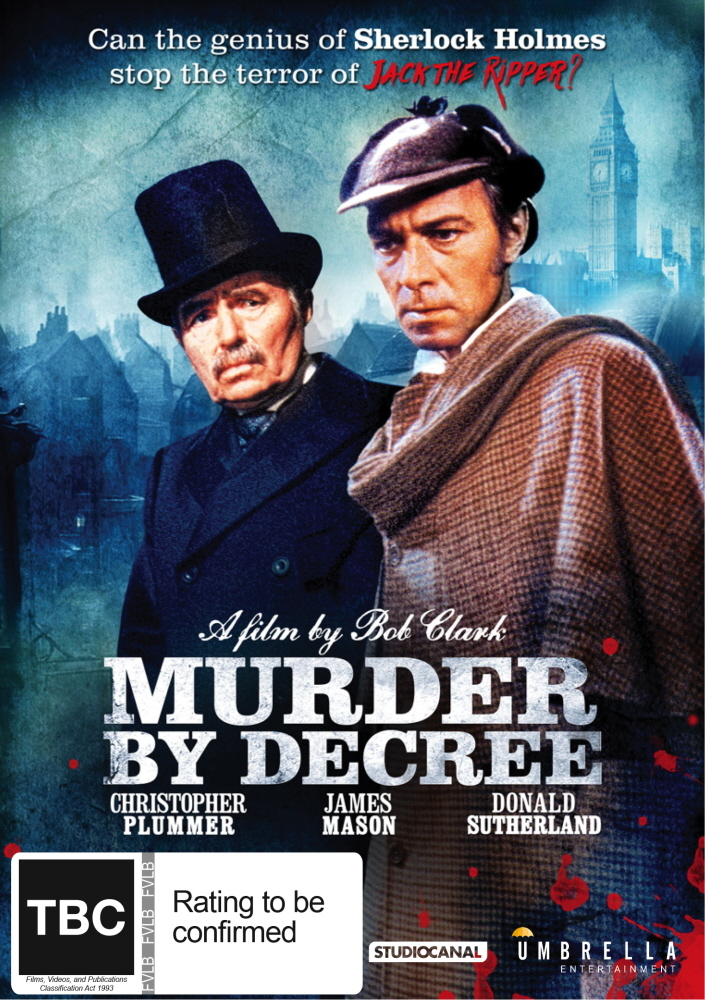 Murder By Decree on DVD image