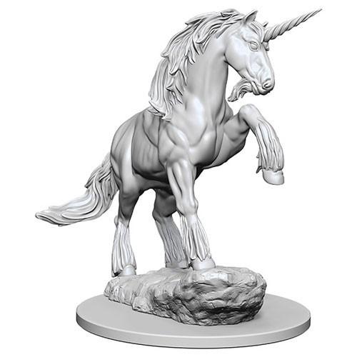 Pathfinder Deep Cuts: Unpainted Miniature Figures - Unicorn image