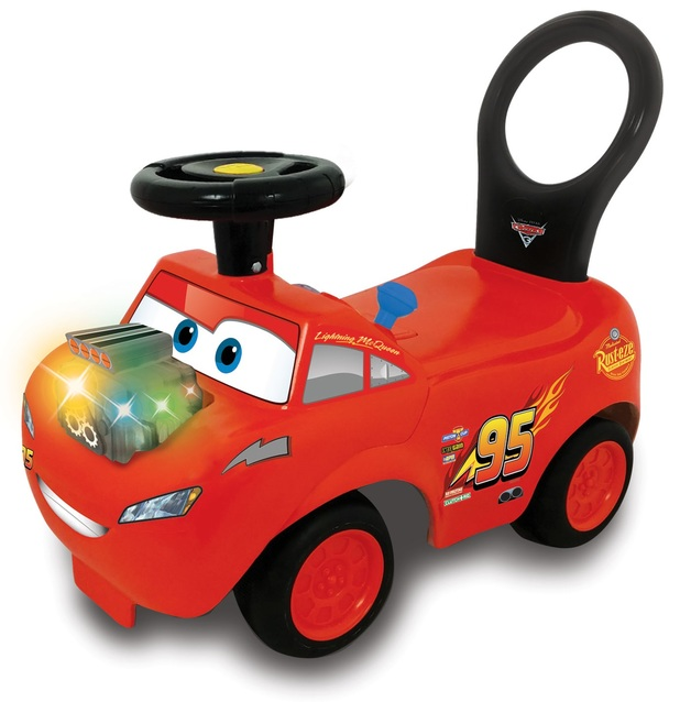 Kiddieland: Revvin' Lights Deluxe Ride-On - Cars