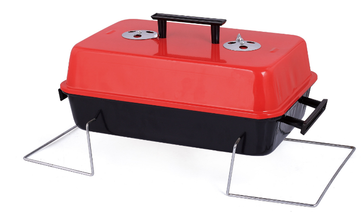 Foldable Portable Charcoal BBQ Grill image